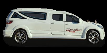 Chevrolet S10 cabine dupla limousine funerária