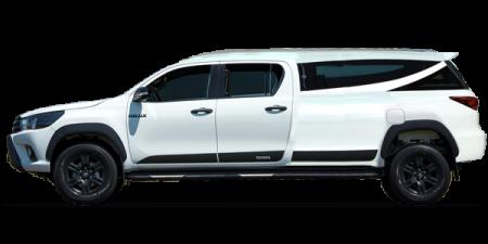 Toyota Hilux Cabine Dupla Limousine Fúnebre